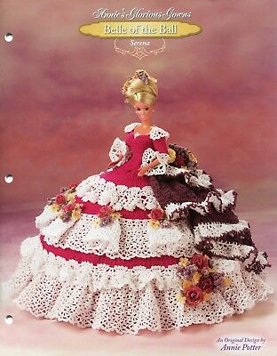 Serena, Annie's Glorious Gowns Belle of the Ball crochet patterns