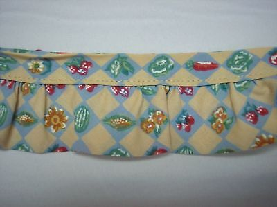 """3 yards of Garden Mix 50% Polyester/50% Cotton 2"""" Wide One Step Trim"""