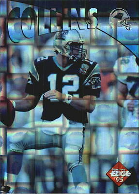1995 Collector's Edge Instant Replay Prisms #42 Kerry Collins