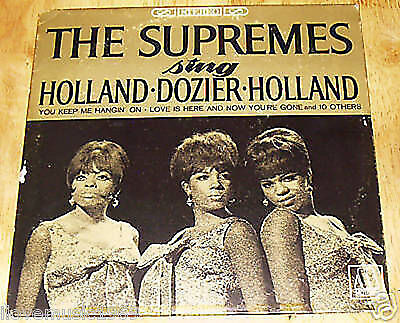 The Supremes sing Holland Dozier MOTOWN Stereo 650 NEAR MINT FREE US SHIPPING