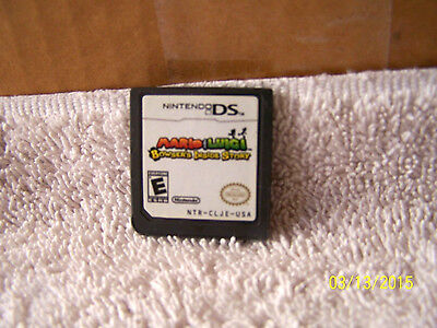 NINTENDO DS -MARIO & LUIGI- BOWSER'S INSIDE STORY   GAME ONLY