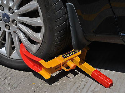 Wheel Lock Clamp Boot Tire Claw  Trailer Auto Car Truck Anti-Theft Towing New