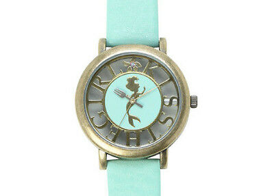 """NEW Disney The Little Mermaid """"Kiss The Girl """" Watch (Mint Color)"""