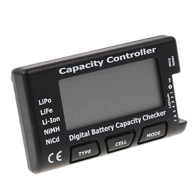 Cell Meter-7 Digital Battery Capacity Checker LiPo LiFe Li-ion NiMH Nicd RC GOOD