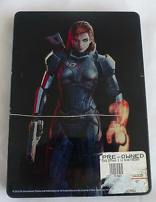 Mass Effect 3 N7 Collector's Edition for XBox 360 with Metal Case and 2 Discs