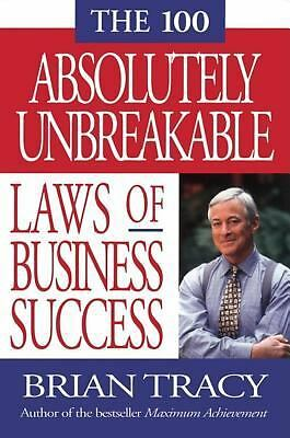 (2000-01-01) The 100 Absolutely Unbreakable Laws of Business Success, Tracy, Bri