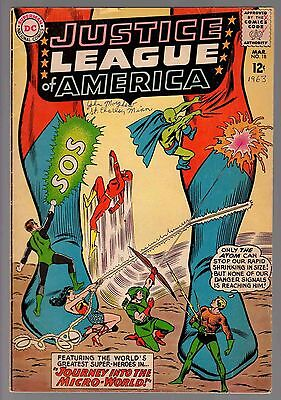 SUPERMAN JUSTICE LEAGUE OF AMERICA MARCH 1963 NO 18 HIGHER GRADE