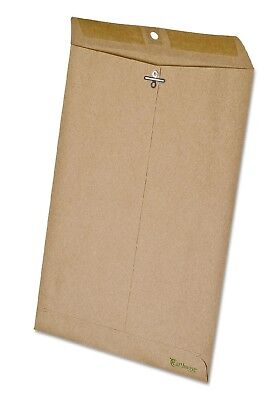 Earthwise Ampad 100% Recycled Paper Clasp Envelope 9 x 12 Side Seam 110/Box