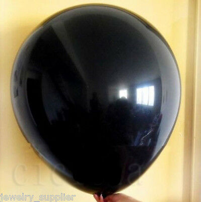 1Pc Black Latex Giant Balloons Wedding Party Balloons Helium Balloon 36 Inch 36""