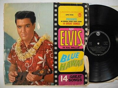 ELVIS PRESLEY Blue Hawaii LP 1961 Germany LPM 2426 different