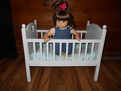 American Girl Bitty Baby Crib + Twin Girl LOCAL PICK UP ONLY