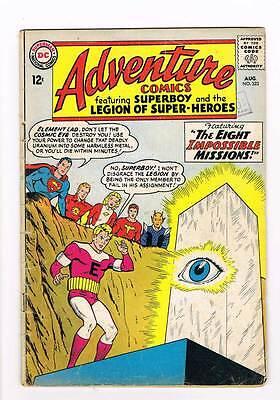 Adventure Comics # 323 Eight Impossible Missions ! grade 3.0 scarce hot book !!