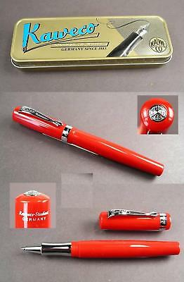 # Kaweco Student Rollerball in rot in Blechbox  #