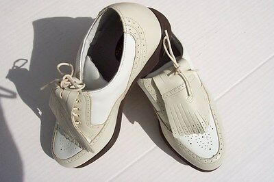 NEW FOOT-JOY EUROPA COLLECTION GOLF SHOES SIZE 8 (WOMAN)
