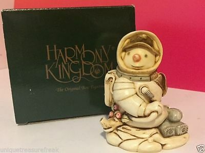 Harmony Kingdom Original Box Figurine Nib Blue Moon Snowman Astronaut Limited Uk