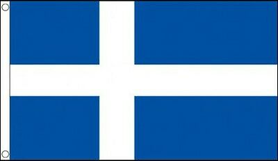 3' x 2' SHETLAND ISLANDS FLAG Scotland Scottish Isles