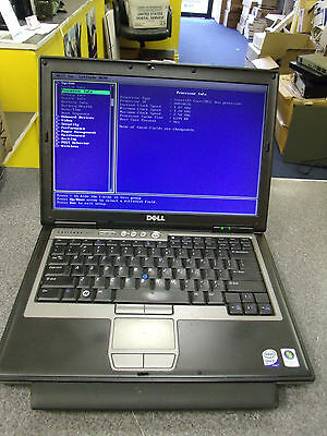 "14.1"" Dell Latitude D630 Laptop Intel Core 2 Duo 2.50GHZ 2GB RAM COMBO WiFi #E59"