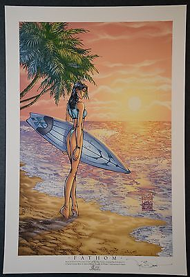Fathom Michael Turner Aspen Art Print Limited to 75