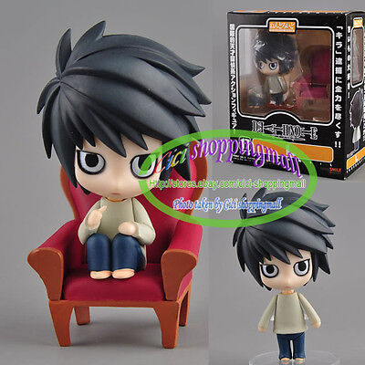 Anime Good Smile Death Note Detective L Scene Figure #17  in box Great Gift