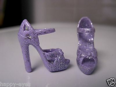 BARBIE DOLL CLOTHES/SHOES *MATTEL SPARKLE HIGH HEELS   *NEW*  #773