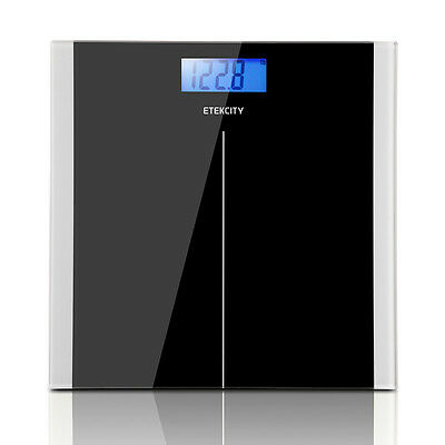 High Precision 400lb/180kg Digital LCD Glass Body Scale Weight Watchers Sale