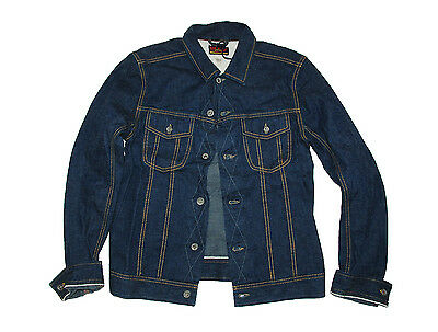 Diesel Our Glory Iron Jacket Men's Denim Jacket size S Made in Italy NWT $595