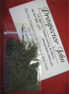 Special Promotion small sample  prospectorjohns Alaska Gold concentrate paydirt