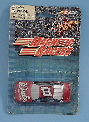 Dale Earnhardt Jr 8 NASCAR Magnetic Racers Winner's Circle 1-64 scale Car Magnet