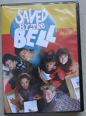 Saved By the Bell - Seasons 1 & 2 (DVD, 2003, 5-Disc Set) Brand New Sealed