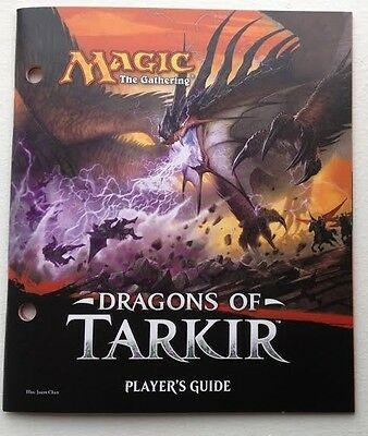 Magic the Gathering MTG Dragons of Tarkir Players Guide