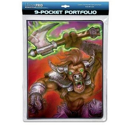 ULTRA PRO 9-POCKET PORTFOLIO 10 PAGES WAR BEAST FIT MAGIC THE GATHERING 82069