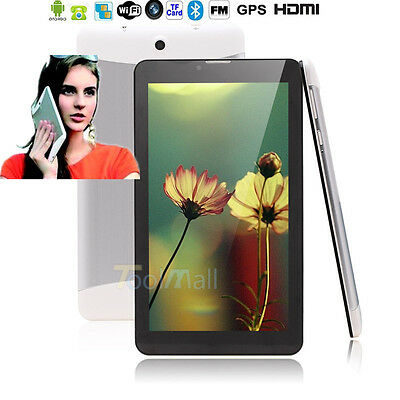 """7"""" Google Android4.4.2 Phablet Tablet PC A23 Capacitive Screen Camera MID Silver"""