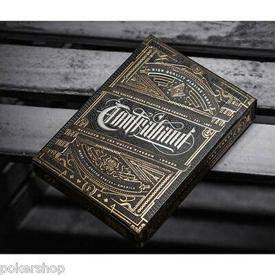 Carte Artisan Contraband Monarchs Sentinel Medallion Tycoon Deck One by Theory11