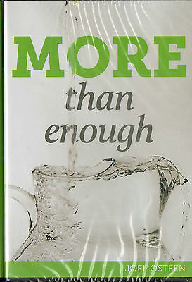 "MORE THAN ENOUGH !!"" CD/DVD JOEL OSTEEN-BRAND NEW-SAME DAY SHIPPING"