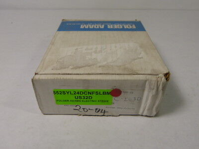 Von Duprin 652SYL24CDNFSLBM/US32D Electric Strike ! NEW !