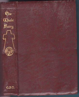 The Whole Story CONFRATERNITY PRECIOUS BLOOD TRADITIONAL CATHOLIC DEVOTIONS Rare