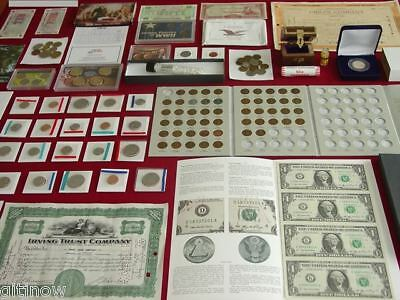 INCREDIBLE!  US COIN COLLECTION! LOT ~ SILVER~GOLD~MORE PROOF MINT ESTATE