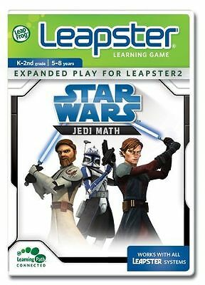 LeapFrog Leapster - Star Wars - Jedi Math - Learning Game K-2nd Grade 5-8 Years