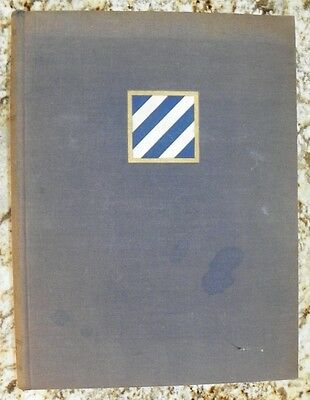 History of the Third 3rd Infantry Division Unit History World War II WWII 1st Ed