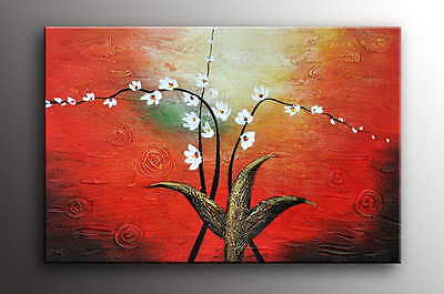 """Oil Painting 36x24""""H Canvas Art Deco Textured Oil Painting"""