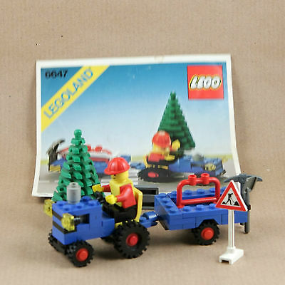 Lego Town 6647 Highway Repair with instruction