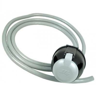 7 PIN TOWING ELECTRICS SOCKET WIRED 12S TYPE FOR CARAVAN 2m