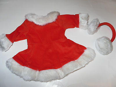 Skating Outfit Doll Clothes- Red -fits 18 inch American Girl Dolls