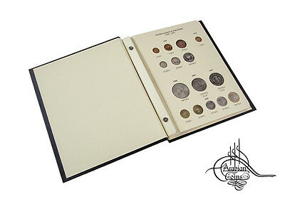 Bahrain 1965-2011 Coin Album 1966 1968 1969 1983 1992 1995 1997 2000 2001 etc