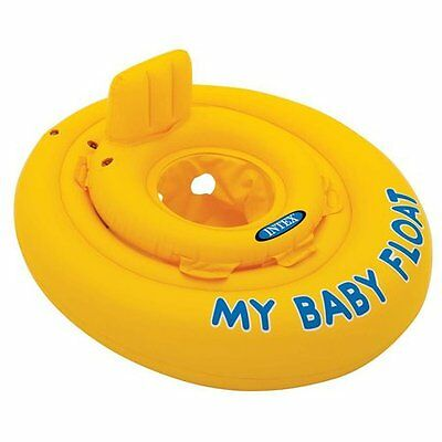 Intex My Baby Float Swimming Aid Swim Seat 6 month - 1 year floatie ring seat