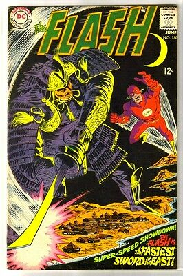 FLASH #180 vs The Fastest Sword of the East! DC Comic Book ~ FN