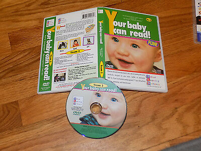 YOUR BABY CAN READ!    VOL 3     INFANT LEARNING COMPANY - DVD