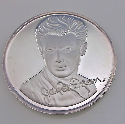 James Dean - One Troy Ounce - .999 Fine Silver - Coin ~#1389