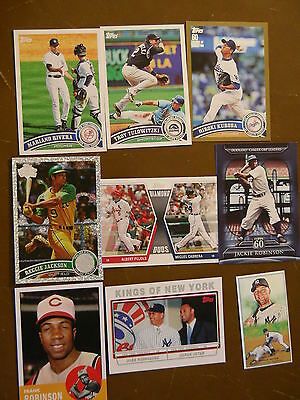 Topps 2011 lot - Series 1&2 + Gold, Chrome & Inserts - 600+ available - 25 picks
