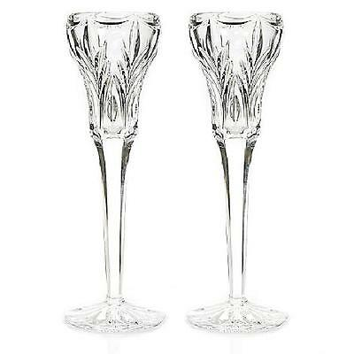 Marquis By Waterford Canterbury Candlestick Pair